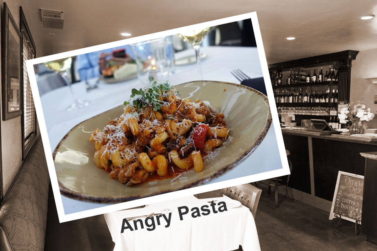 Why is Our Angry Pasta So Angry? (And Delicious too!) | Siena Bistro | San Jose, CA 95125